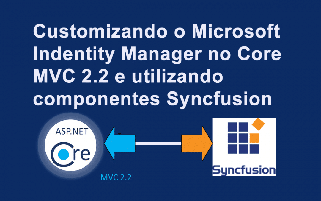 Customizando o Microsof indentity Manager no Core MVC 2.2 utilizando componentes Syncfusion
